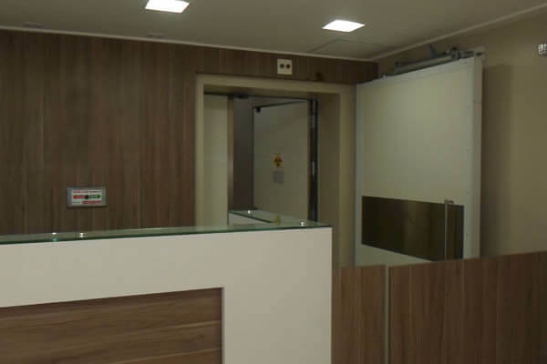 porta radioterapia 4 - Porta para Radioterapia