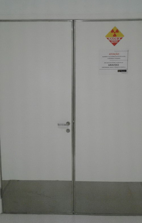 porta protecao radiologica 02 - Porta de Proteção Radiológica